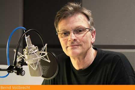 Synchronsprecher - Synchronstimme Bernd Vollbrecht