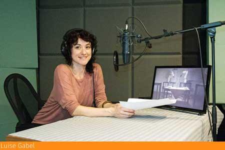 Synchronsprecher - Synchronstimme Luise Gabel