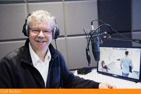 Synchronsprecher - Synchronstimme Olaf Baden